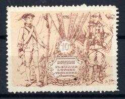 WW1- DELANDRE -  10e Rgt D'Infanterie ( 44 X 33 ) - Vignette NEUVE ( Sans Traces De Charnières ) - NMNH - Vignettes Militaires