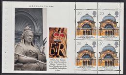 GRAN BRETAGNA 1990 FOGLIETTO PANE 1 FROM BOOKLET DX 11 20p X 4 Europa Commemoratives London Life  SG 1493a  MNH - Nuevos