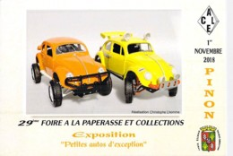 02 - LAON (Association Des Collectionneurs) 29 ème FOIRE à La PAPERASSE Et COLLECTIONS - 1/11/2018 - CPM GF - Aisne - Collector Fairs & Bourses