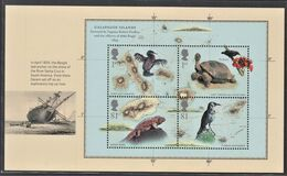 GRAN BRETAGNA 2009 FOGLIETTO PANE 3 FROM BOOKLET DX 45 1ST AND 81p X 2 MS BEAGLE & GALAPAGOS ISLANDS  SG MS2904a  MNH - Ungebraucht