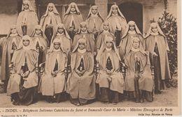 MISSIONS  INDES   RELIGIEUSES INDIENNES SAINT ET IMMACULE COEUR DE MARIE. MISSIONS ETRANGERES DE PARIS - Missions
