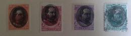 Peru 1894 Frankeerzegels Generaal Remigio Morales Bermúdez - Peru