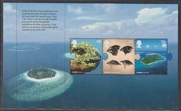 GRAN BRETAGNA 2009 FOGLIETTO PANE 1 FROM BOOKLET DX 45 48p + 50p + 56p TROPICAL ISLANDS  CHARLES DARWIN  SG 2906a  MNH - Ungebraucht