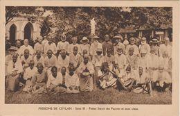 MISSIONS  DE CEYLAN   PETITES SOEURS DES PAUVRES ET LEURS VIEUX - Missie