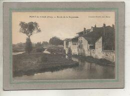CPA - (01) PONT-de-VAUX - Aspect Des Maisons Sur Les Bords De La Reyssouze En 1922 - Pont-de-Vaux