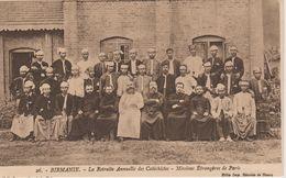 MISSIONS  DE BIRMANIE  LA RETRAITE ANNUELLE DES CATHECHISMES. MISSIONS ETRANGERES DE PARIS - Missie