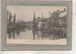 CPA - (01) PONT-de-VAUX - Aspect Des Maisons Sur Les Bords De La Reyssouze En 1900 - Pont-de-Vaux