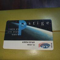 Israel-barak Prestige-international-(2)-(31379)-good Card+1card Prepiad Free - Israele