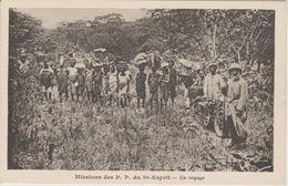 MISSIONS  DES P.P. DU SAINT ESPRIT CAMEROUN   EN VOYAGE - Missie