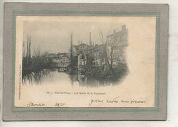 CPA - (01) PONT-de-VAUX - Aspect Des Maisons Sur Les Bords De La Reyssouze En 1903 - Pont-de-Vaux