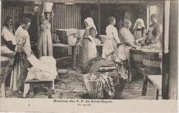 MISSIONS  DES P.P. DU SAINT ESPRIT CAMEROUN.   AU TRAVAIL - Missie