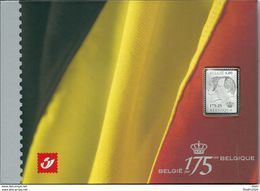 OCB 3418 = Zilveren Zegel In Map + Blok 118 - Numéros De Planches