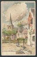 +++ CPA - DILBEEK - L'Eglise - Illustrateur RANOT   // - Dilbeek