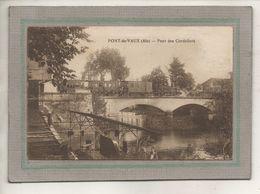 CPA - (01) PONT-de-VAUX - Aspect Du Train Traversant Le Pont Des Cordeliers Sur La Reyssouze En 1932 - Pont-de-Vaux