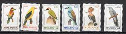 Moldavie 1992 Mi Nr 14 - 19, Vogels, Bird - Moldavia