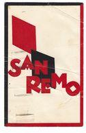 CLB074 -  CASINO' MUNICIPALE DI SANREMO I MASSIMI PIU' ELEVATI DEL MONDO 1930 CIRCA - San Remo