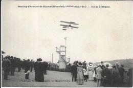 BRUXELLES Meeting D' Aviation De Stockel 1910.Vol De De Ridder - Brussel Nationale Luchthaven