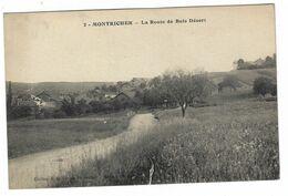 CLB075 -  MONTRICHER LA ROUTE DE BOIS DESERT 1920 CIRCA - Other Municipalities