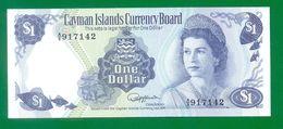 Cayman Islands  1 Dollar L1974 (1985)  QEII  Prefix A/5  P5d   UNC - Isole Caiman