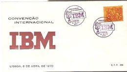 Portugal & FDC IBM International Convention, Lisbon 1970 (438) - FDC