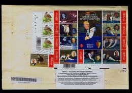 BELGIQUE Billard International Sport Champions Players Jeux Table Games Sports 2012 Sp7019 - Briefmarken