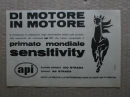 - ADVERTISING PUBBLICITA'  CARBURANTI API  - 1961 - Reclame