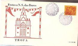 Portugal & FDC Pilgrimages To Nossa Senhora Das Das Dores, Trofa 1969 (398) - Celebrations