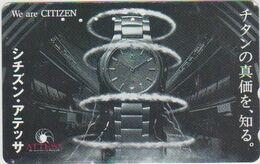 CLOCK - WATCH - JAPAN-004 - CITIZEN - Advertising