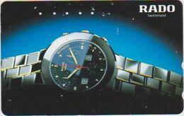CLOCK - WATCH - JAPAN-005 - RADO SWITZERLAND - Advertising