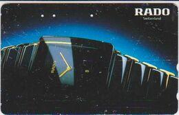 CLOCK - WATCH - JAPAN-006 - RADO SWITZERLAND - Advertising