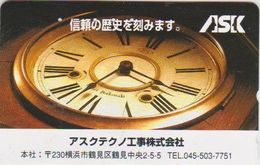 CLOCK - WATCH - JAPAN-011 - Advertising