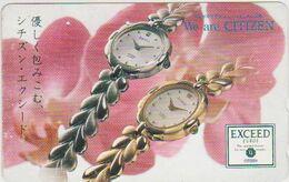 CLOCK - WATCH - JAPAN-013 - CITIZEN - Advertising