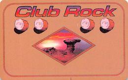 Camel Rock Casino Tesuque NM BLANK 2nd Issue Peach Colored Slot Card - Carte Di Casinò