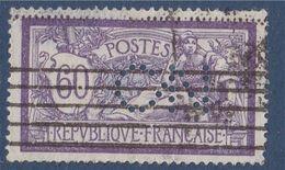 Type Merson N°144 Oblitéré Perforé O.N - Perfin