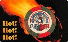 Casino Rouge - Baton Rouge, LA - Slot Card - Manufacturing ERROR Missing Mag Stripe - Carte Di Casinò