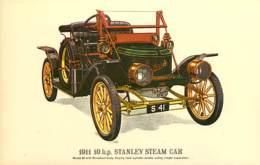 Automobiles - Voitures De Tourisme - 1911 10 H.p Stanley Steam Car - Art Dessin - Carte Neuve - CPM - Voir Scans Recto-V - Voitures De Tourisme