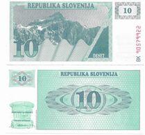 395 SLOVENIA 10 TOLAR  FDS NUOVI - Slowenien