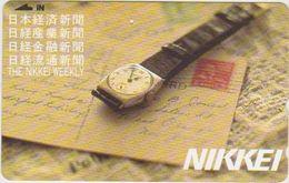 CLOCK - WATCH - JAPAN-029 - STAMP - Advertising