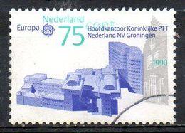 PAYS-BAS. N°1356 Oblitéré De 1990. Edifices Postaux. - Europa-CEPT