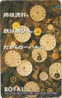 CLOCK - WATCH - JAPAN-042 - ROVAL - Pubblicitari