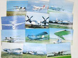 """USSR Antey 1991 Calendar An-225 """"Mriya"""" Set Of 12 Planes - Aviazione Commerciale"""