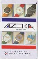 CLOCK - WATCH - JAPAN-049 - AZEKA - Pubblicitari