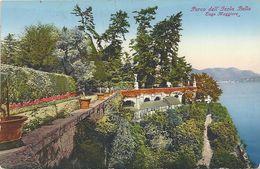 Isola  Bella--     LAGO  MAGGIORE   PARCO 1948   BIENNE  SVIZZERA - Verbania