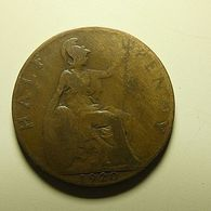 Great Britain 1/2 Penny 1920 - C. 1/2 Penny