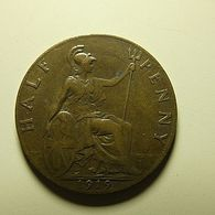 Great Britain 1/2 Penny 1919 - C. 1/2 Penny