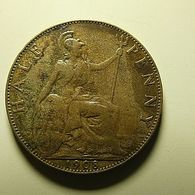 Great Britain 1/2 Penny 1908 - C. 1/2 Penny