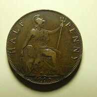 Great Britain 1/2 Penny 1907 - C. 1/2 Penny