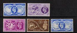 "Great Britain - UPU, Variety ""Lake In Asia"" SG 499..., 1949, UMM - 1902-1951 (Re)"