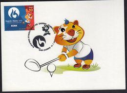 Croatia Zagreb 2016 / Golf / European Universities Games / Mascot HRKI / MC / Sport - Golf