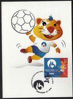 Croatia Zagreb 2016 / Handball / European Universities Games / Mascot HRKI / MC / Sport - Pallamano